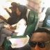 Ice Prince & girlfriend still waxing strong! Spotted on a plane together