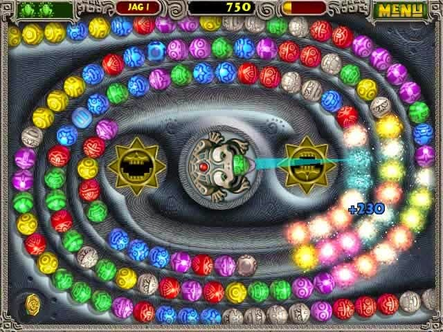 Zuma Deluxe Puzzle game free download