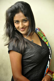 Actress Amitha rao Looking Glamour with Long Hair