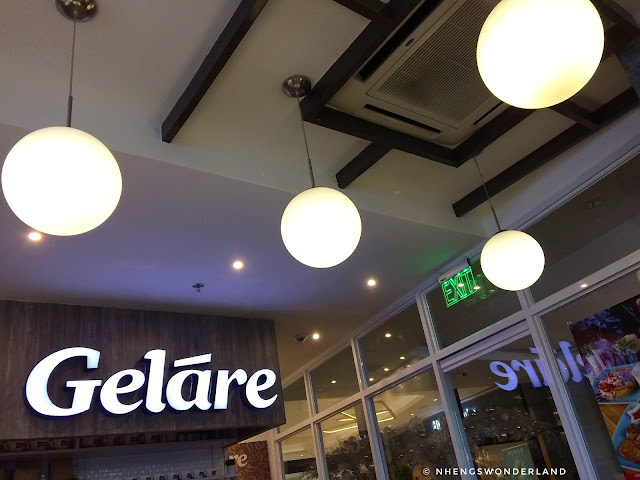 Gelare at Uptown Mall BGC