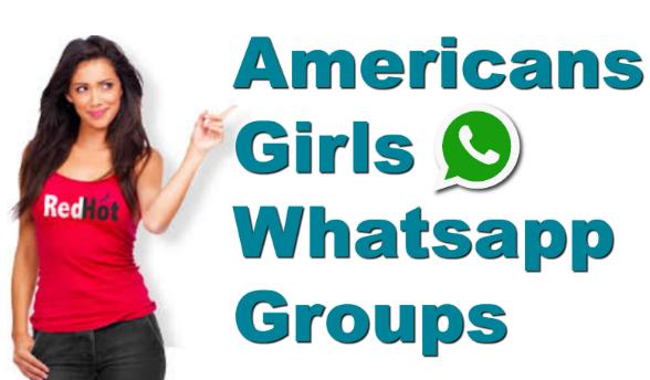 Usa Girls Whatsapp Groups Links American Girls New Active