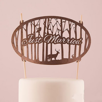 decoration mariage forêt gateau de mariage