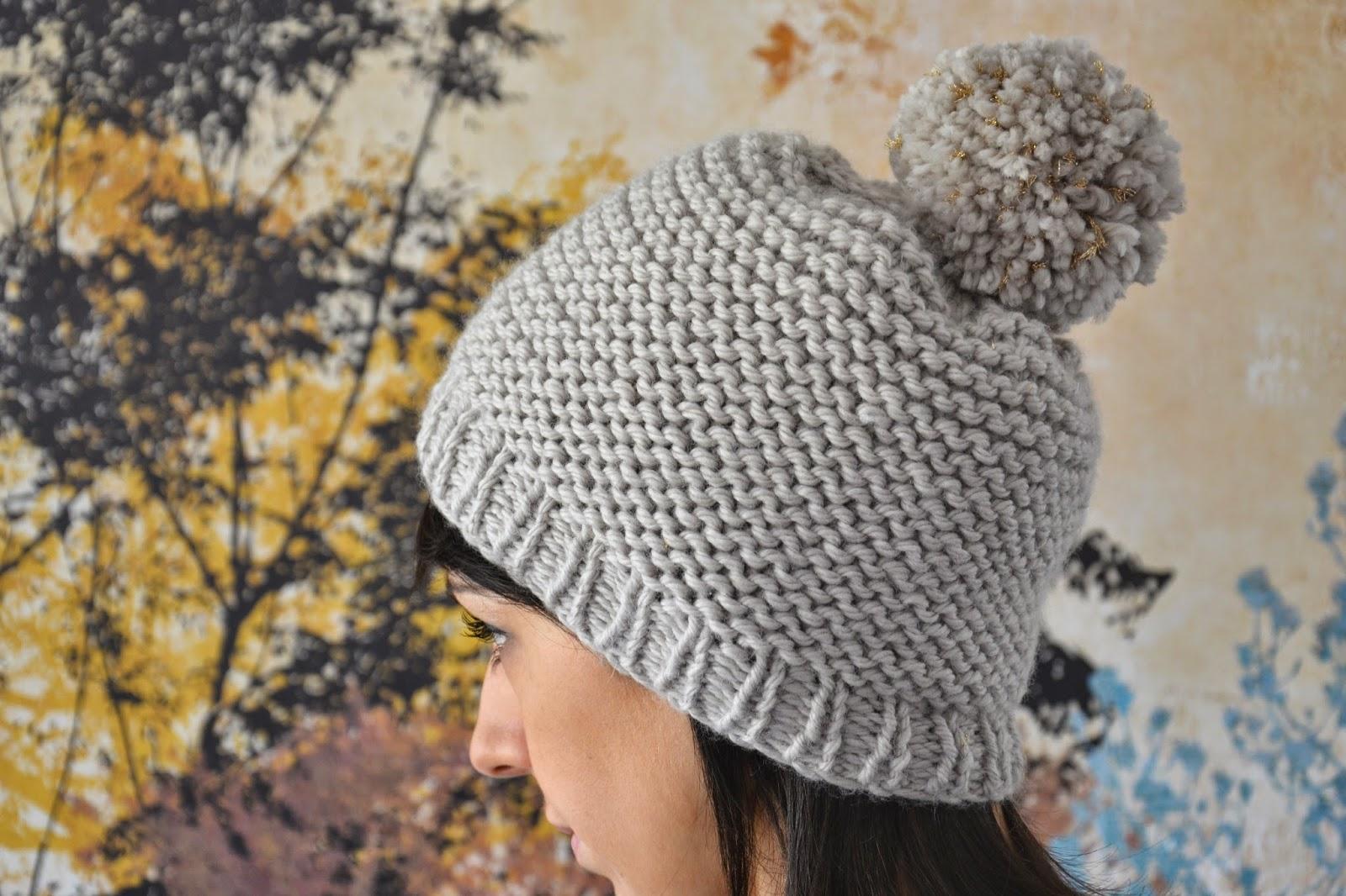 tricoter un bonnet point jersey