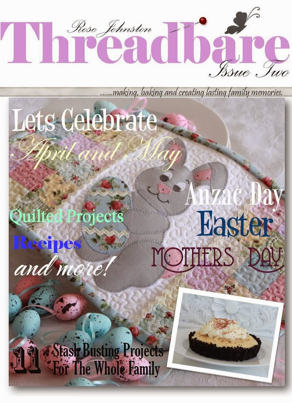 Threadbare Creations: Threadbare Ezine- Issue Two