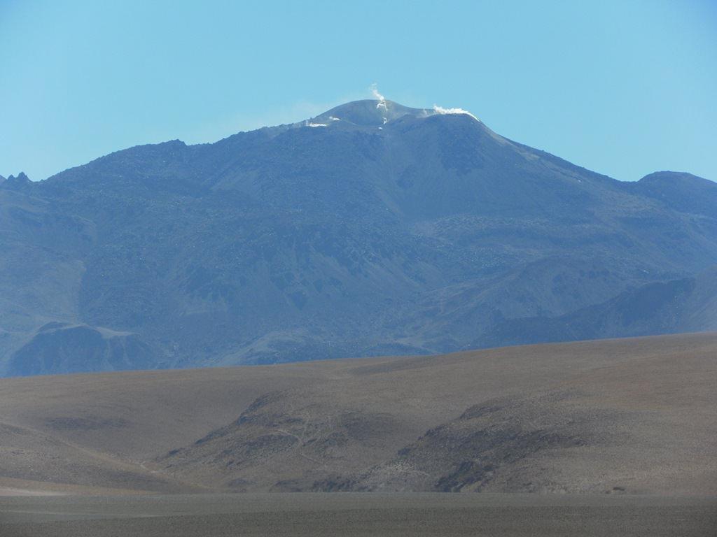 Vulcões no Atacama