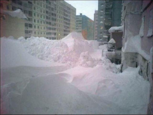 Winter in Norilsk Siberia Maret 2014  Lowongan Kerja 2014