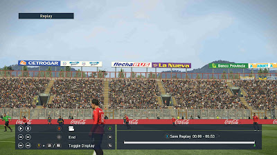 PES 2019 Stadium Boards Superliga Argentina by Buzzy