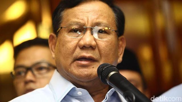 Prabowo: Saya Bela Pancasila, Malah Dibilang Dukung Khilafah