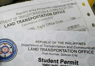 Image result for lto student permit