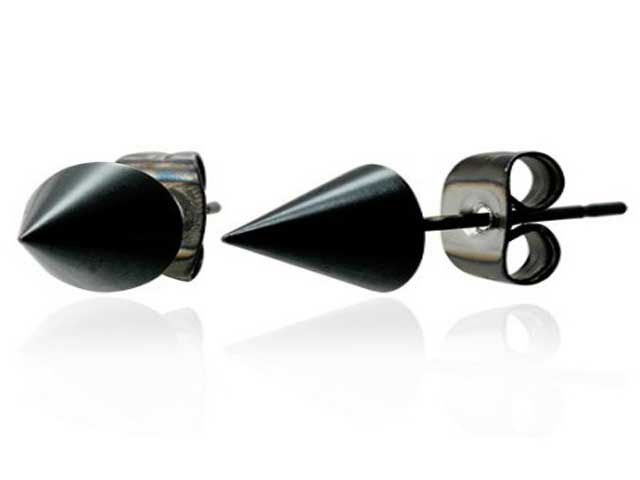 fashionjewellery: black earrings for men