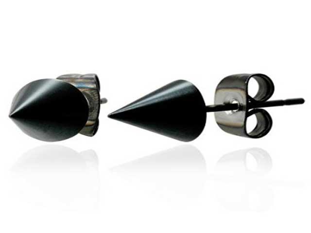 fashionjewellery: black earrings for men