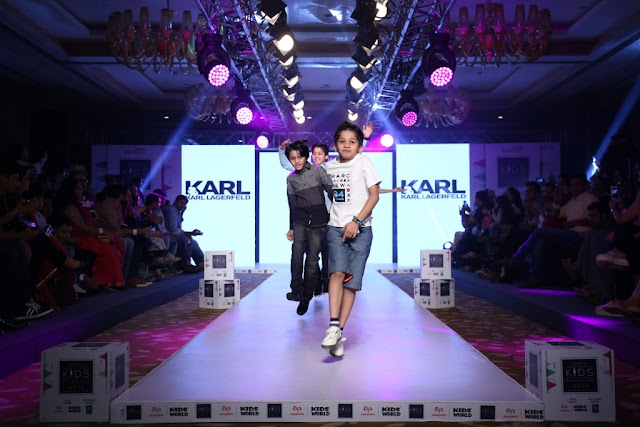 Day-2,Kids enjoyed walking the ramp during India Kids Fashion Week
