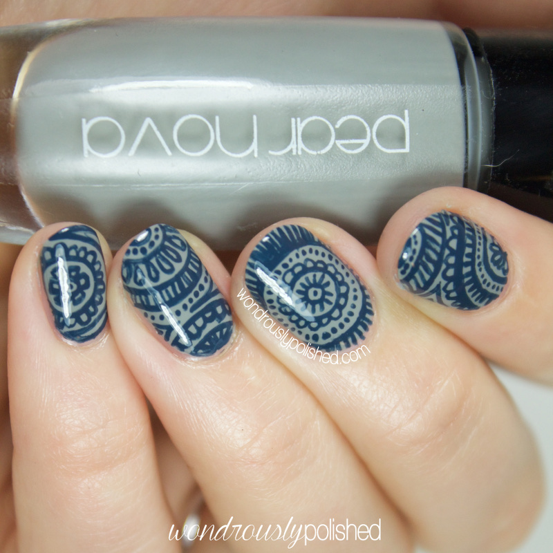 Nail Art Henna: Wondrously Polished: 31 Day Challenge, Day 12