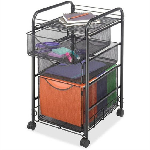 portable file cabinet on wheels