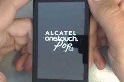 Cara Flash Alcatel One Touch Pop C3 4033D via Flashtool Tested Sukses 100% Firmware Free Tanpa Password