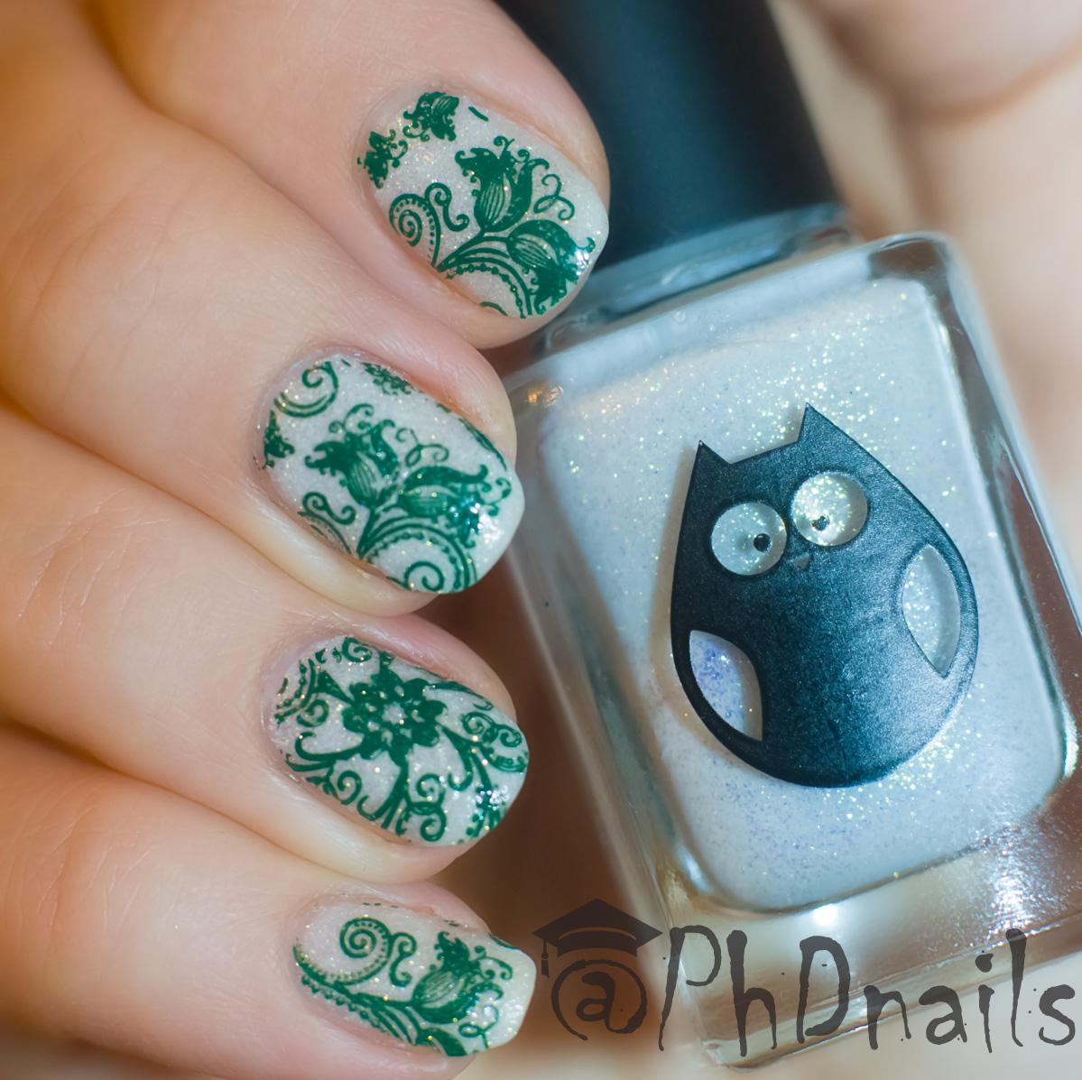 PhD nails: 40 great nail art ideas: Fashion inspired stamping \