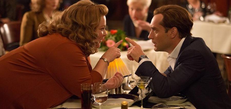 Melissa Mccarthy şi Jude Law în comedia Spy