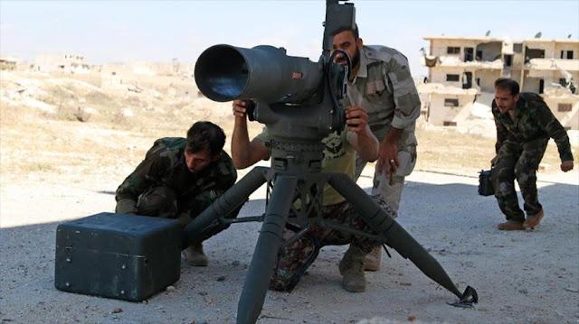 """Exgrupo """"rebelde"""", apoyado por EEUU, ataca ciudad cristiana siria"""
