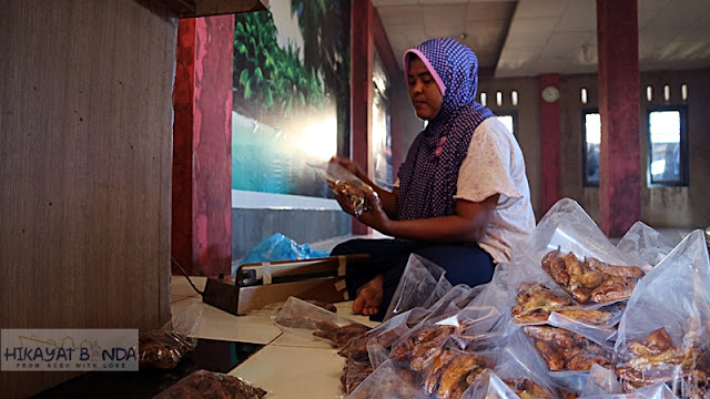 Jajanan Khas Aceh, Pisang Sale