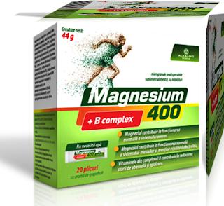 magnesium 400 + b complex pareri forum