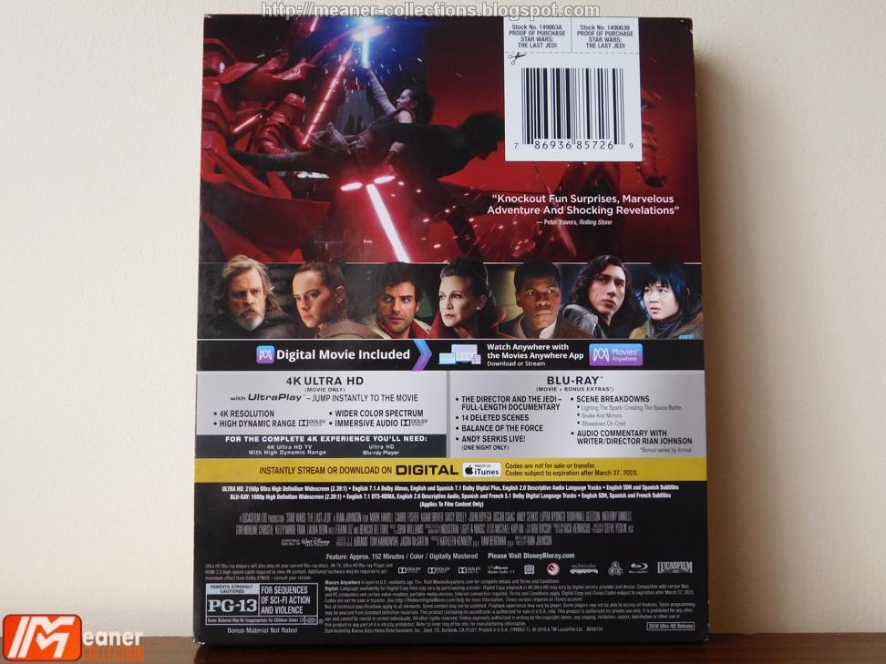 Star Wars: The Last Jedi - Best Buy Exclusive [Blu-ray 4K