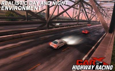 Free Download Game  CarX Highway Racing MOD APK Terbaru,Download Game CarX Highway Racing MOD APK Lots Of Money 1.48.0, CarX Highway Racing yang merupakan game balapan mobil android offline terbaru 2017.Fiture Game Carx Highway Racing