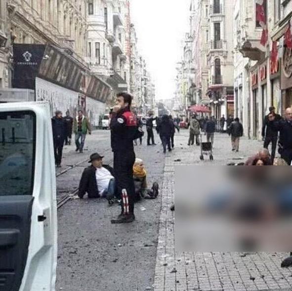 Hampir 4 Maut Dalam Serangan Bom Terbaru di Turki