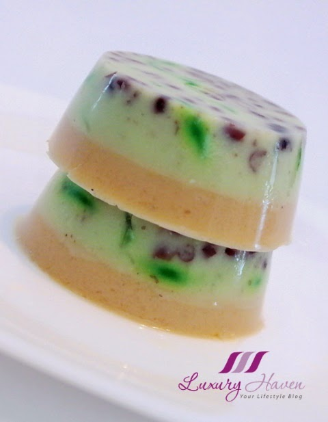 kara coconut cream chendol agar agar recipe