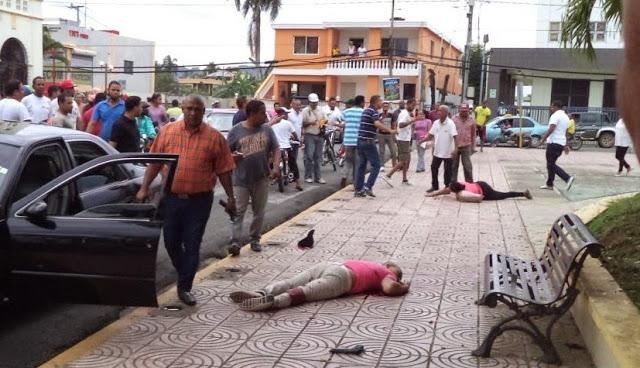 Resultado de imagen para Desconocidos asaltan y matan a tiros dos hombres