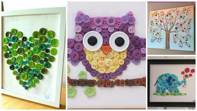 aprende-como-hacer-cuadros-decorativos-botones