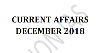 Vision IAS Current Affairs December 2018 - Download PDF