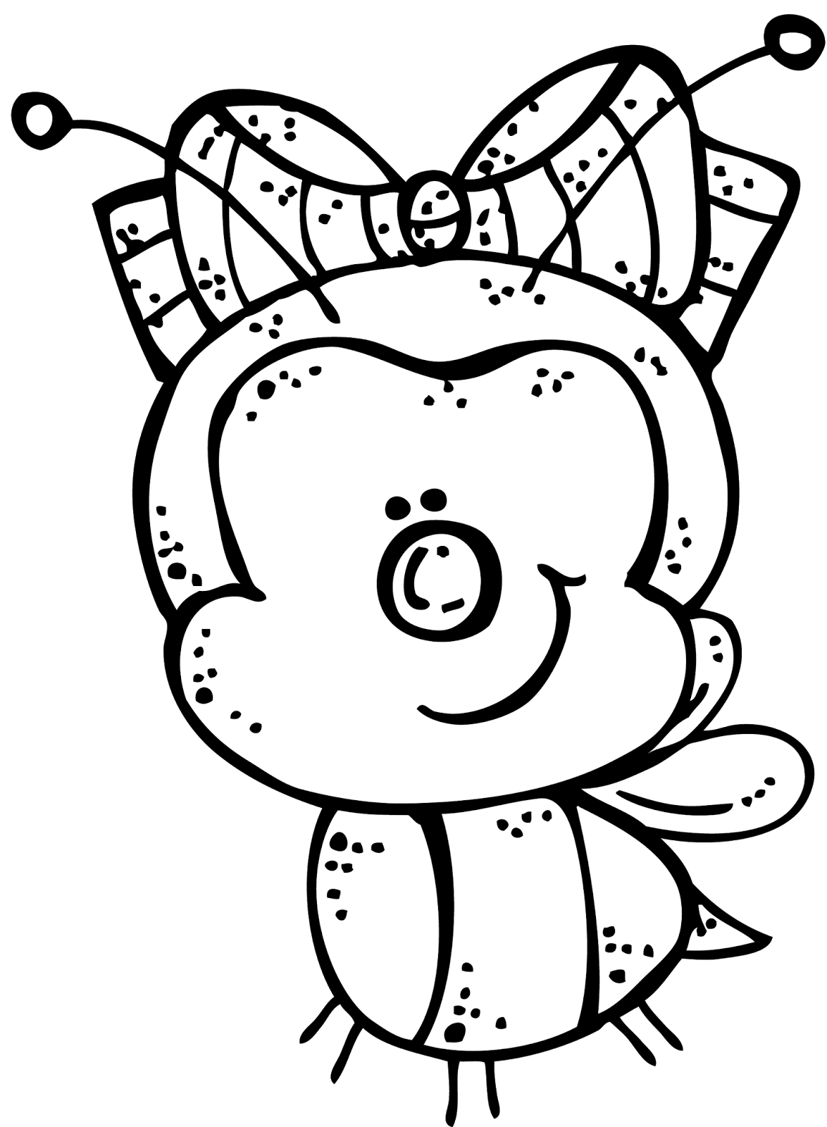 Melonheadz Clip Art Black and White