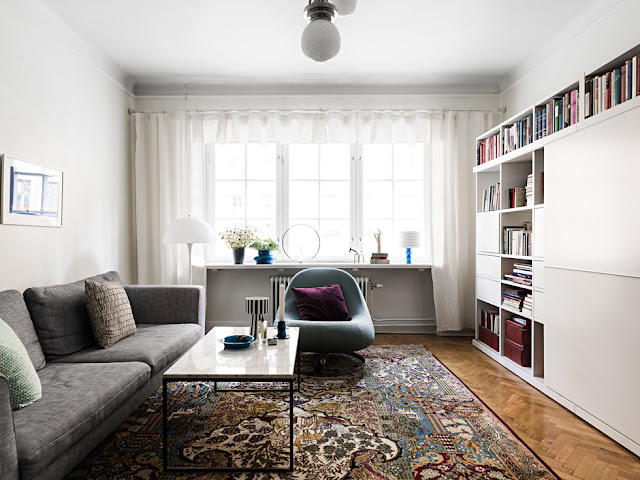A Delightful Historic Apartment In Stockholm- design addict mom