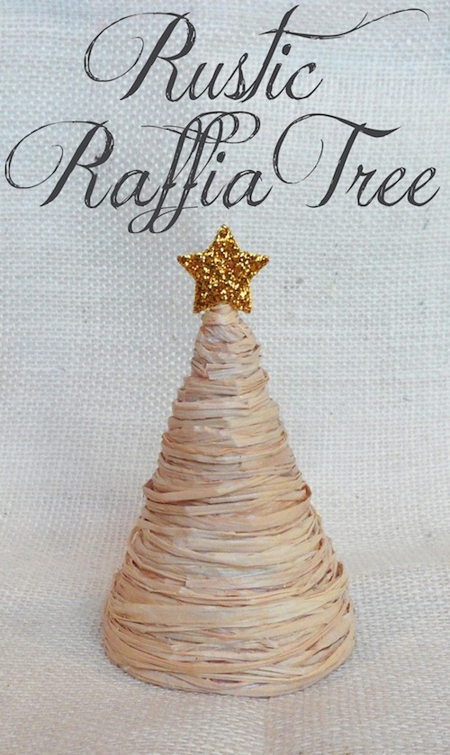 Rustic Raffia Tree  Smart School House