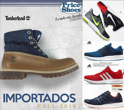 Catalogo Price Shoes Importados 2016 Fall