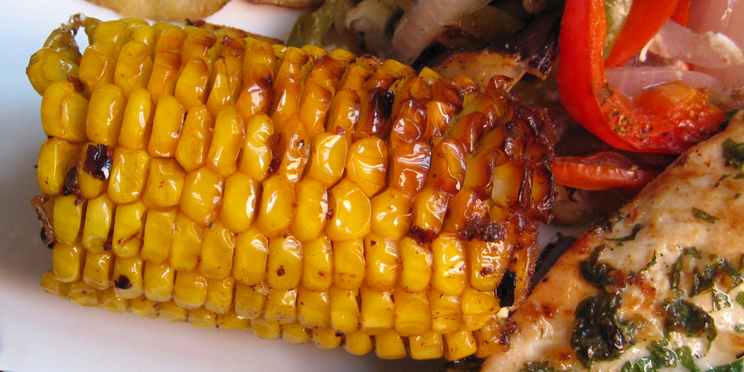 Chilli corn on the cob