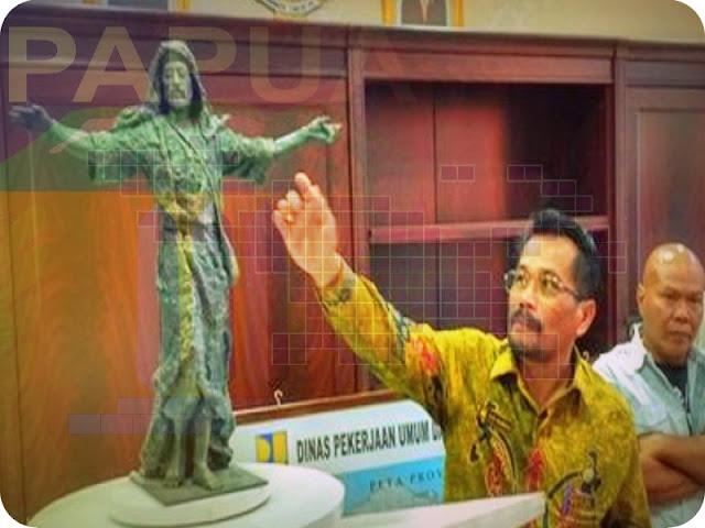 Patung Yesus di Jayapura Akan Dilapisi Emas