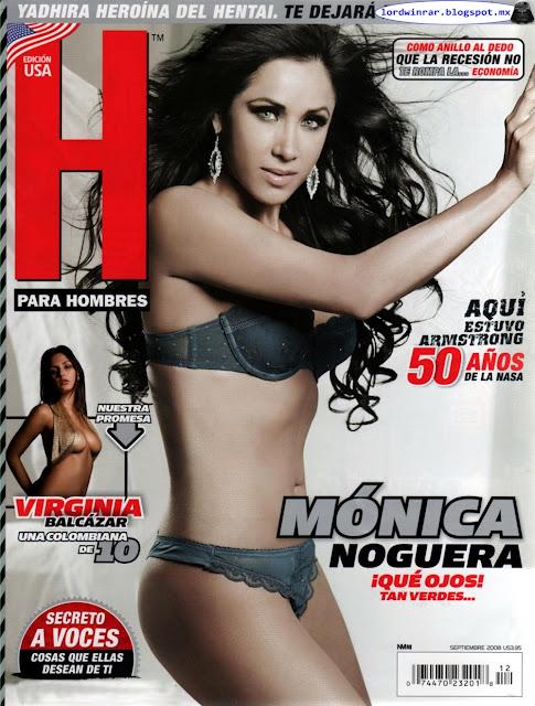 Monica Noguera Revista H para Hombres Septiembre 2008