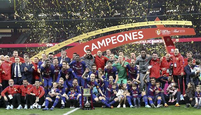 Barcelona goleo al Sevilla