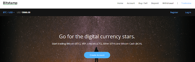 Bitstamp cryptocurrency exchange