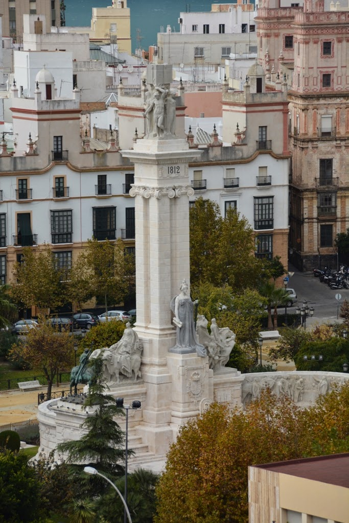 Port of Cadiz Monument