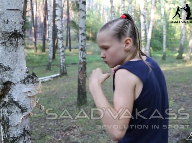 Evnika Saadvakass, menina prodígio do boxe