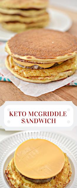 Keto McGriddle Sandwich