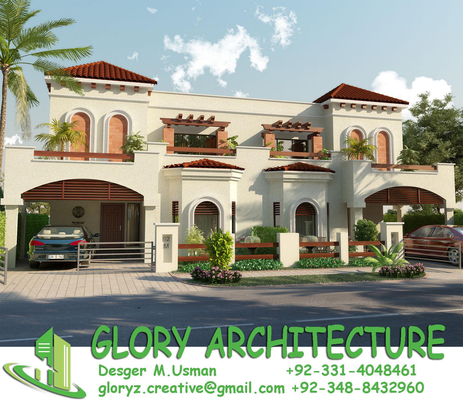 Glory Architecture 25x50 House Elevation Islamabad: Glory Architecture