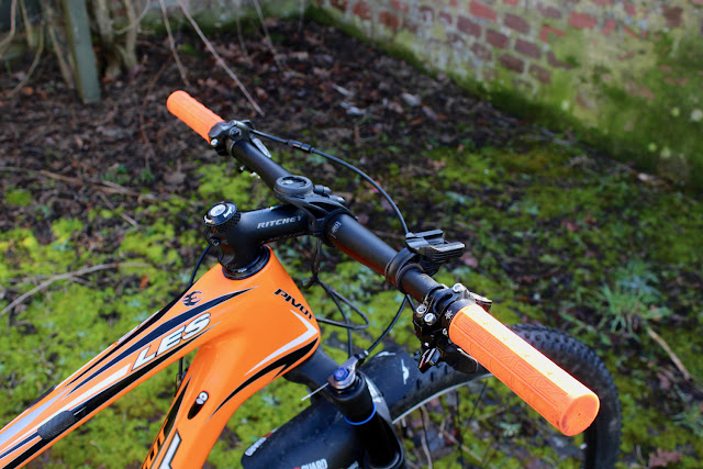 Ride Upgrades - Wide and Low 29er MTB Handlebars