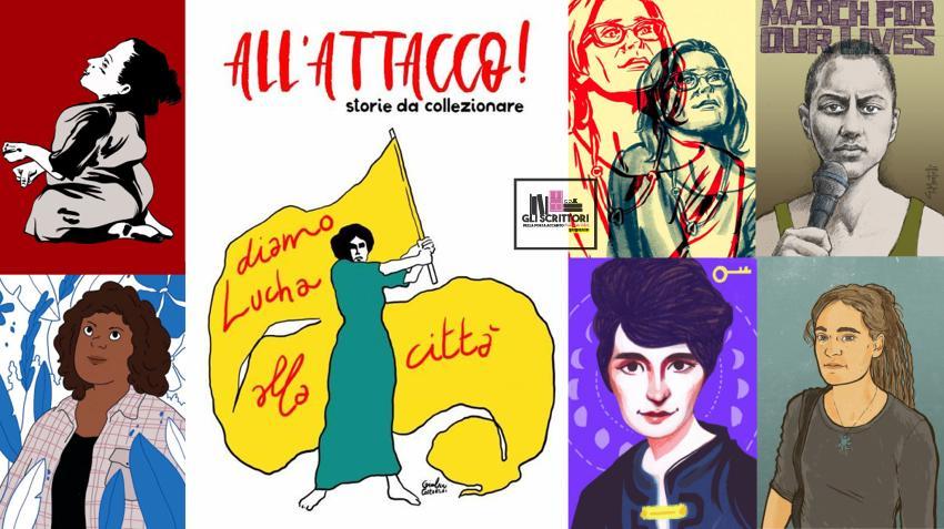 All'attacco: l'album di figurine che sostiene la casa delle donne Lucha y Siesta