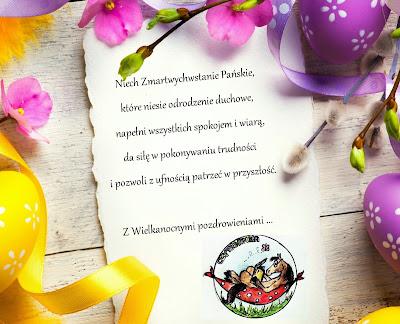 Życzenia Wielkanocne + zapowiedzi kwietniowe