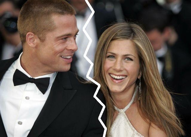Brad Pitt e Jennifer Aniston (Imagem: Reprodução/Internet)