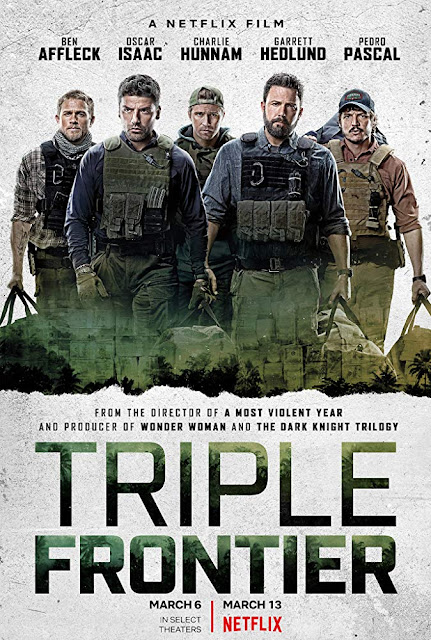 Triple Frontier 2019 Netflix movie poster