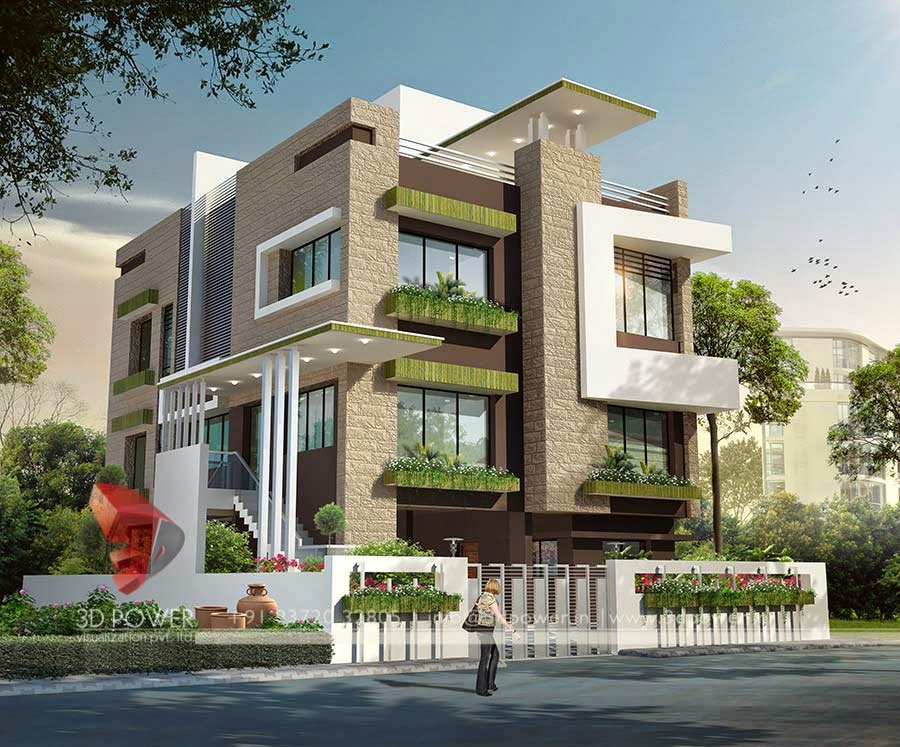 Ultra modern home designs home designs home exterior for Award winning house designs in india